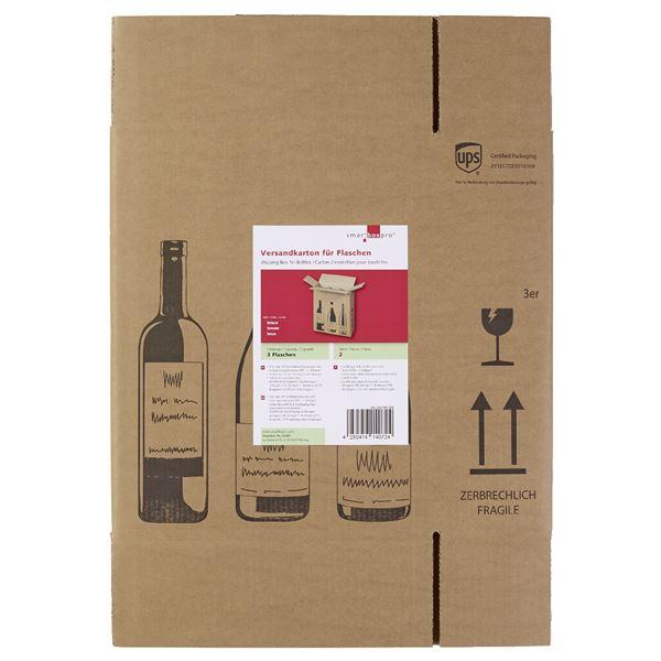 Smartbox Versandkarton für 3 Flaschen