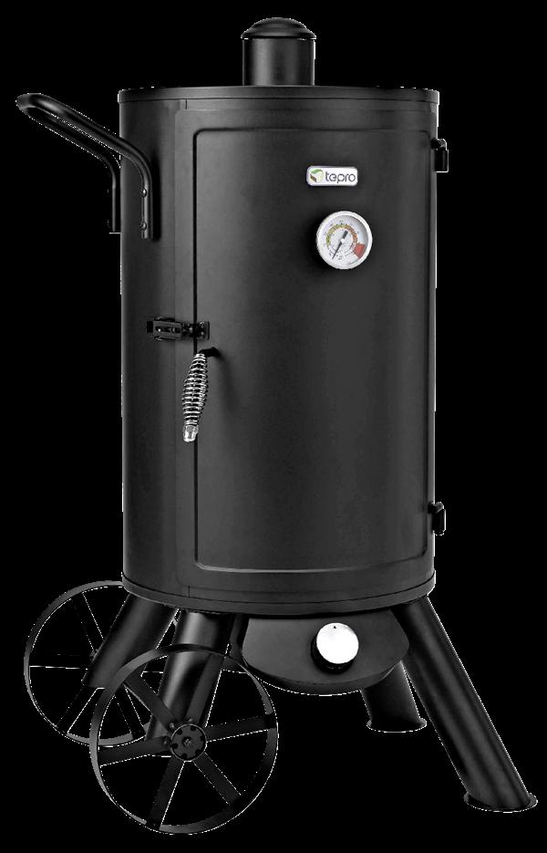 Tepro Gas-Räucherofen Palmdale Schwarz