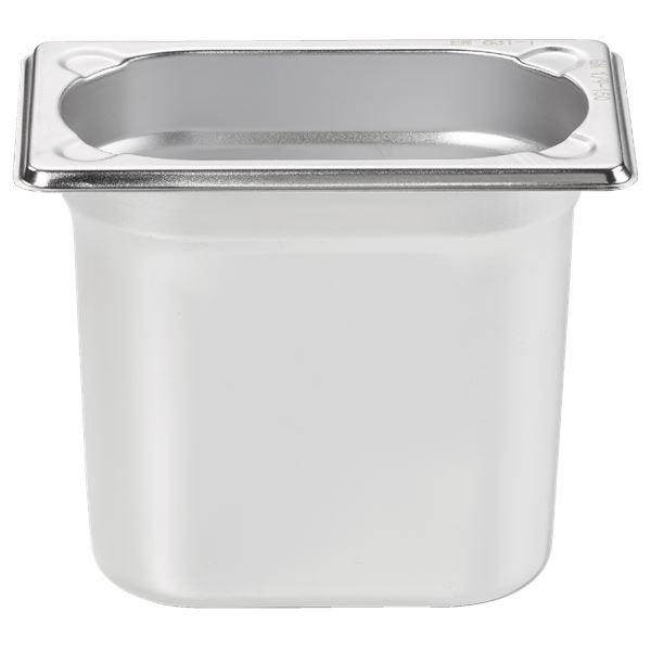 METRO Professional GN Behälter 1/9 Chrom-Nickel-Edelstahl 150 mm