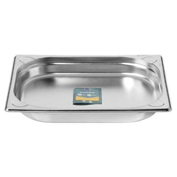 METRO Professional GN Behälter 1/2 Chrom-Nickel-Edelstahl 40 mm
