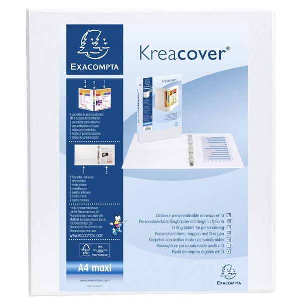 Exacompta personalisierbares Präsentationsringbuch A4 Maxi