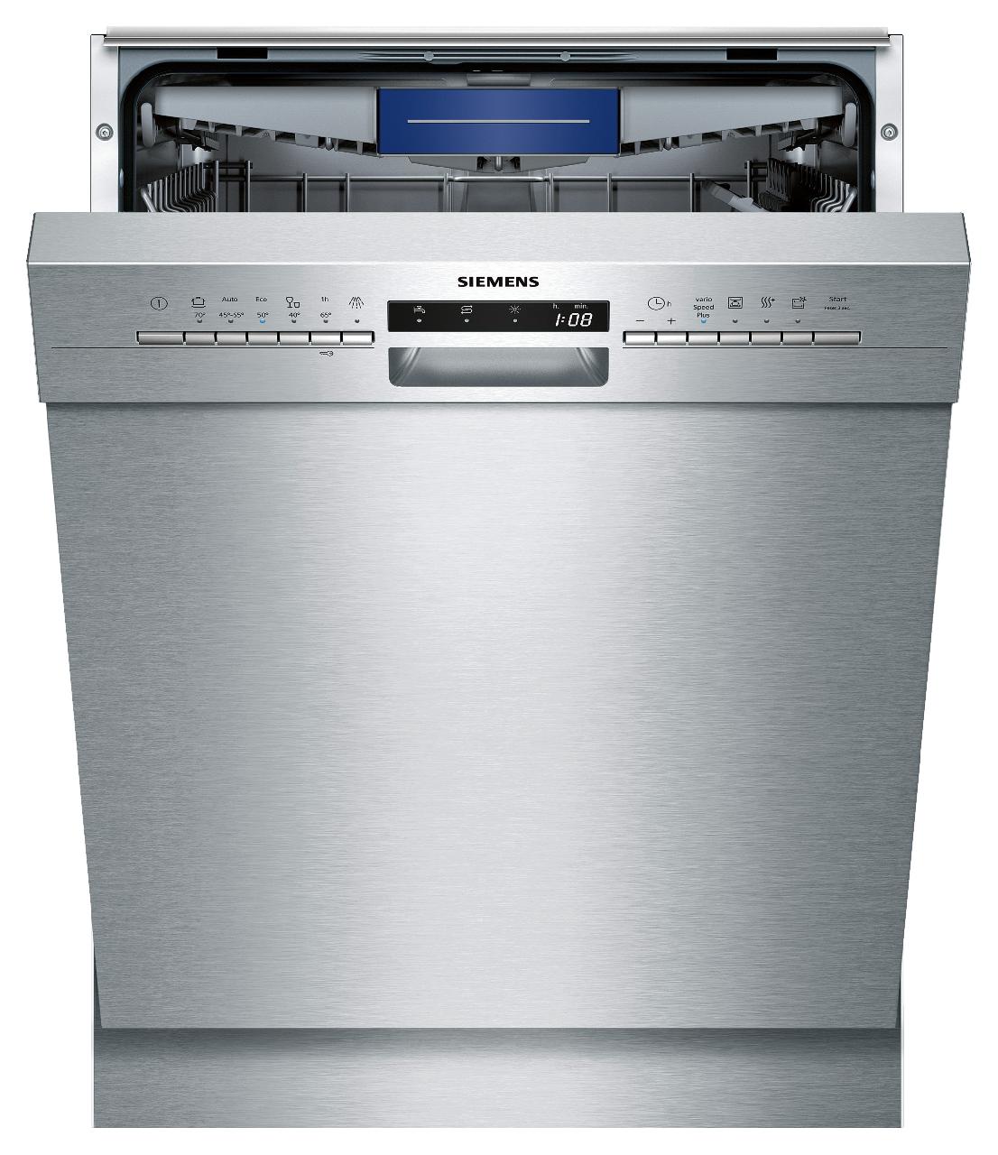 Wunderbar Siemens Geschirrspüler Unterbaugerät Edelstahl SN436S01KE EEK: A++