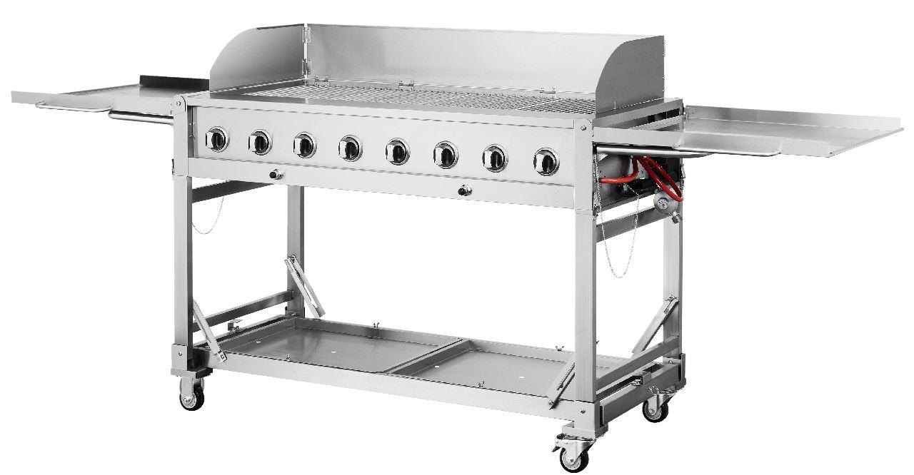 Outdoor Küche Metro : Metro professional edelstahl eventgrill 8 flammig edelstahlgrill