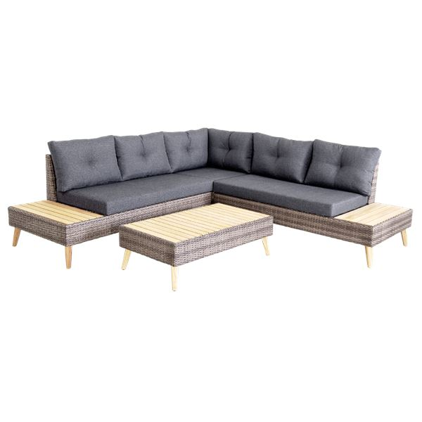 Tarrington House Sofa Eck Lounge Maruga Dunkelgrau Loungemöbel
