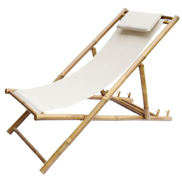 Bambus Strandstuhl