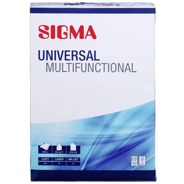 Sigma DIN A3 Kopierpapier Universal Multifunctional 80 g/m² - 500 Blatt