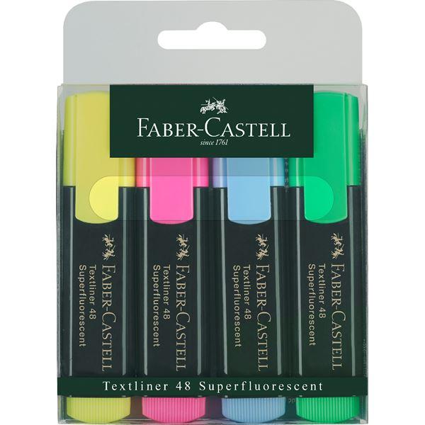 Faber-castell Textliner 48 Refill Farbig sortiert