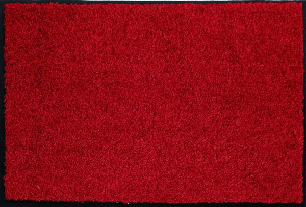 Astra Fußmatte Proper Tex Uni Rot 60  x  40 cm
