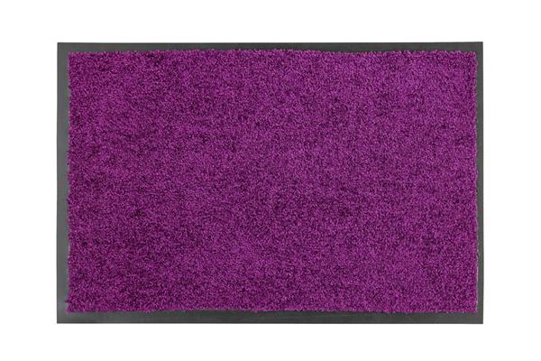 Astra Fußmatte Proper Tex Uni Aubergine 60  x  40 cm