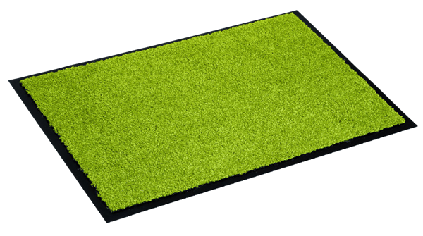 Astra Fußmatte Proper Tex Uni Grün 60  x  40 cm