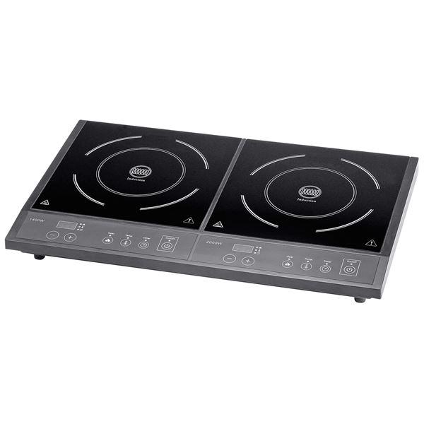 Tarrington House Doppel-Induktionskochplatte DIC3400