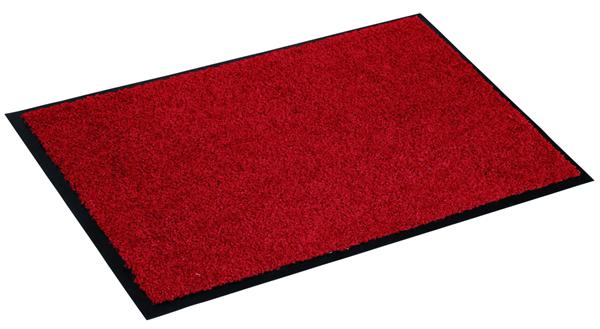 Astra Fußmatte Proper Tex Uni Rot 150  x  90 cm