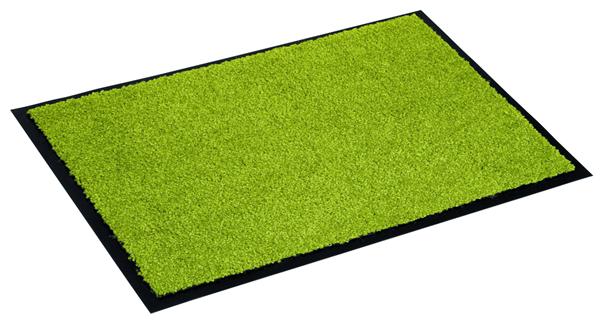 Astra Fußmatte Proper Tex Uni Grün 150  x  90 cm