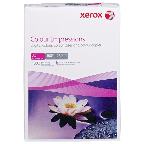 Xerox DIN A4 Kopierpapier Colour Impressions 160 g/m² - 250 Blatt