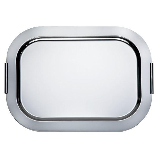 H-Line Tablett  Finesse 38  x  52 cm Silber