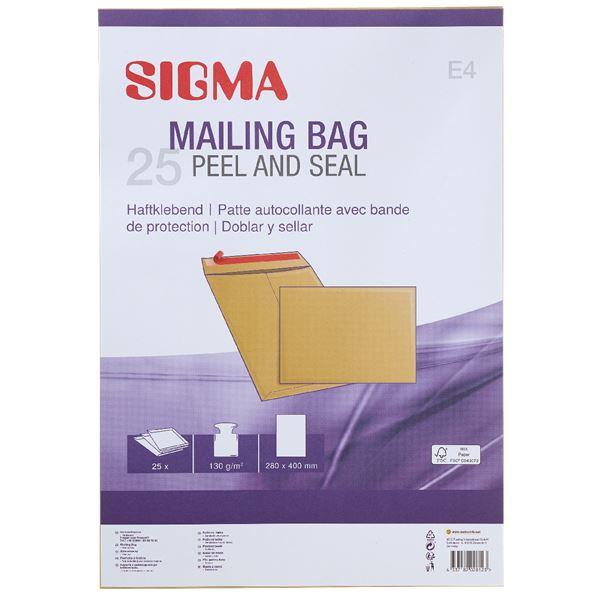Sigma Versandtasche DIN E4 - 25 Stück