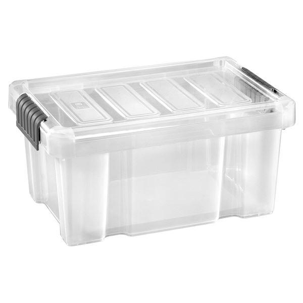 Tarrington House Clear Box mit Deckel 5 l