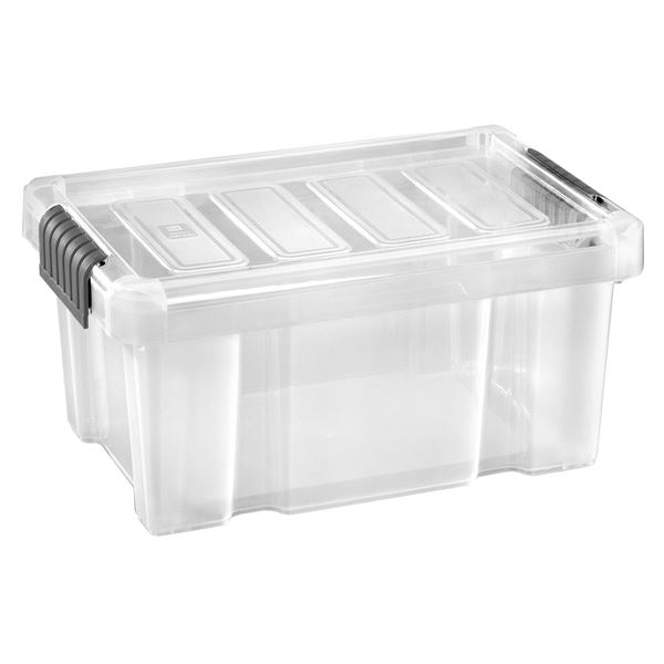 Tarrington House Clear Box mit Deckel Transparent