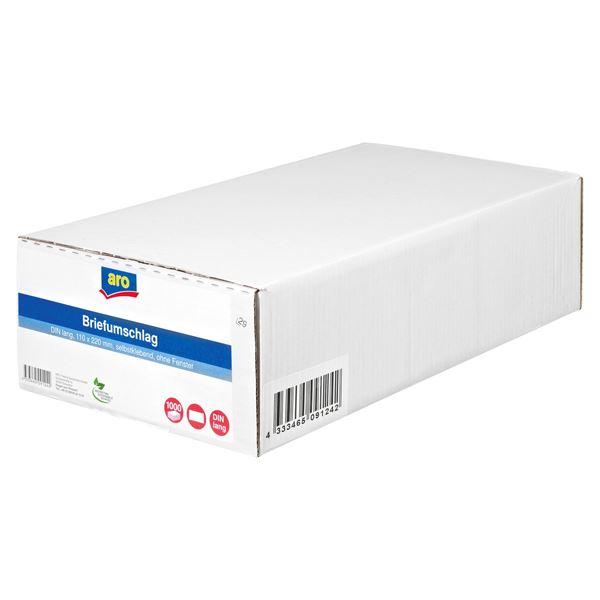 aro Briefumschlag DIN Lang - 1000 Stück