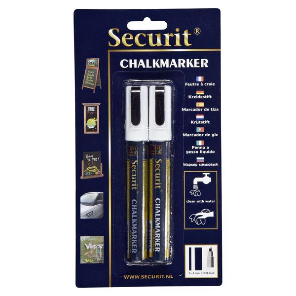 Securit Illumigraph Kreidemarker small 2 - 6 mm - 2 Stück