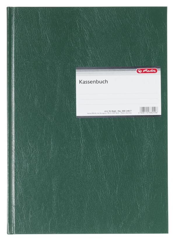 Herlitz Kassenbuch DIN A4