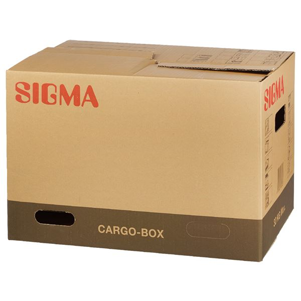 Sigma Umzugsbox Braun ca. 67 l
