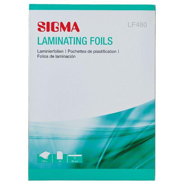 Sigma Laminierfolien LF480 A4 - 100 Stück