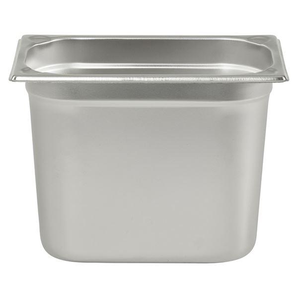APS GN Behälter 1/4 Chrom-Nickel-Edelstahl 200 mm