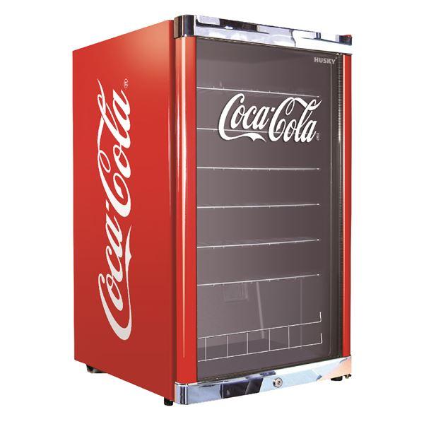 husky k hlschrank high cube coca cola hus 166 eek a k hlschr nke k hlen gefrieren. Black Bedroom Furniture Sets. Home Design Ideas