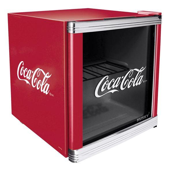 Husky Mini-Kühlschrank Cool Cube Coca Cola Design EEK: A+