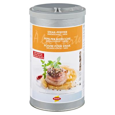 Wiberg Steak Pfeffer Würzmischung Mix Aus Meersalz Pfeffer Paprika
