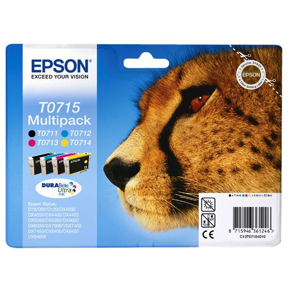 Epson Tintenpatrone T071 Multipack