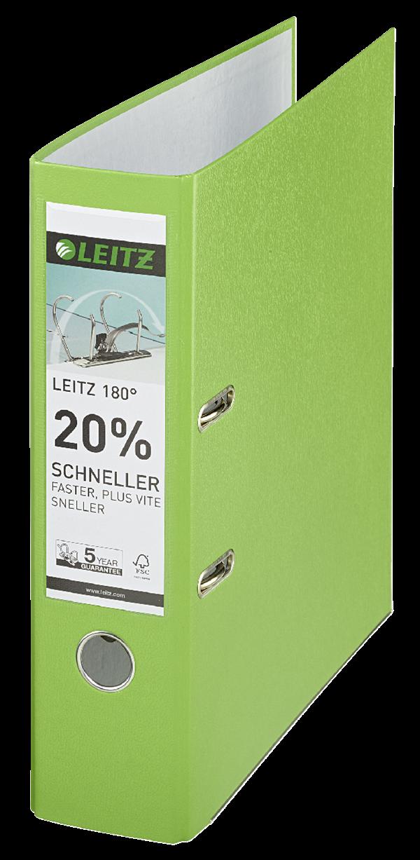Leitz Ordner 1010 Breit Hellgrün - 3 Stück