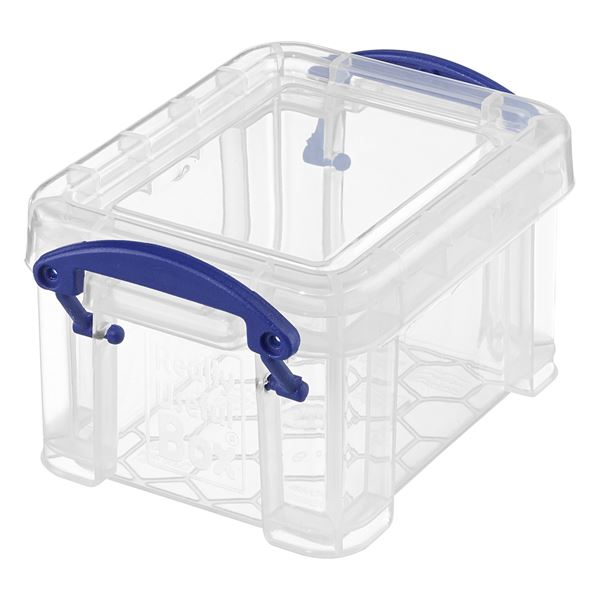 Really Useful Products Aufbewahrungsbox 0,14l Transparent