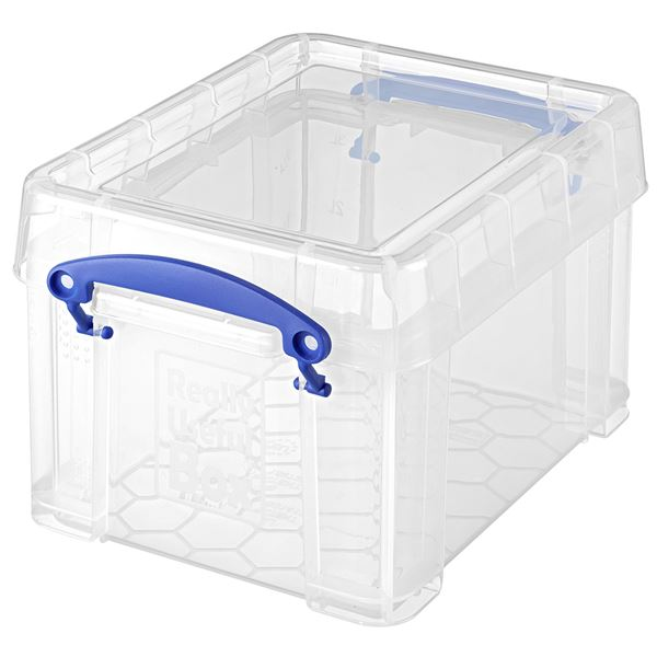 Really Useful Products Aufbewahrungsbox 3l Transparent