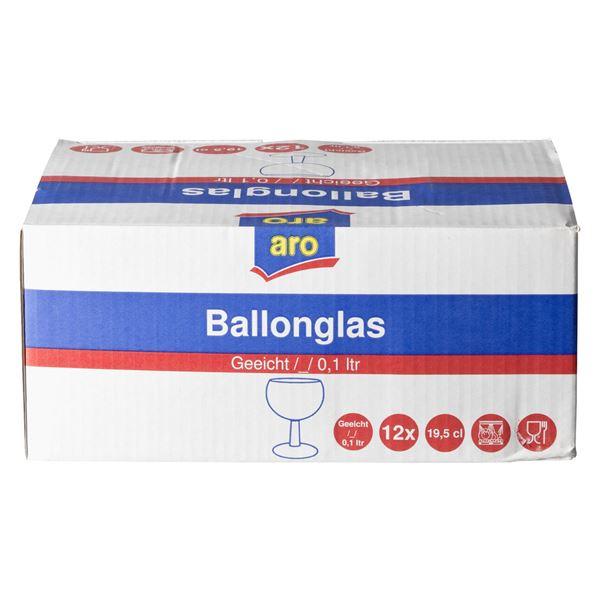 aro Ballonglas 195 ml - 12 Stück