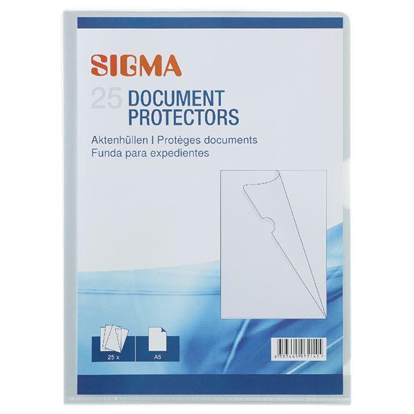 Sigma Aktenhüllen Premium A5 - 25 Stück