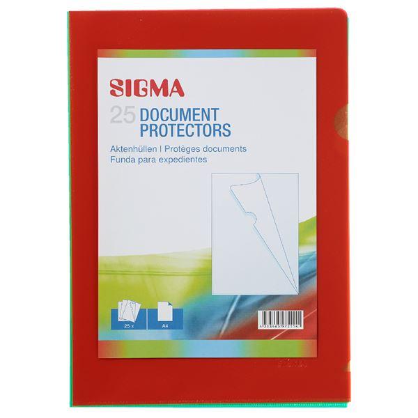 Sigma Aktenhüllen A4 - 25 Stück