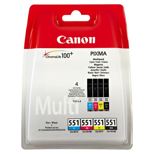 Canon Tintenpatrone CLI-551