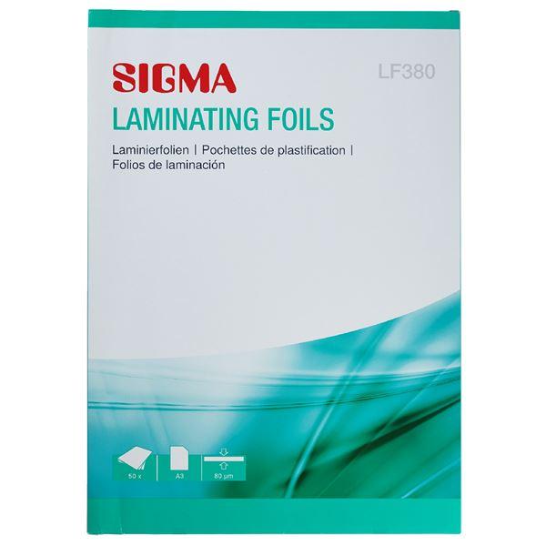 Sigma Laminierhüllen LF380 A3 - 50 Stück