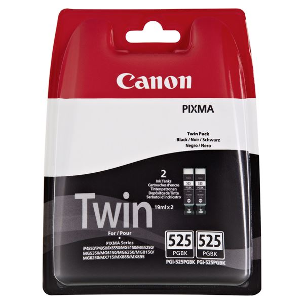 Canon Tintenpatrone PGI 525BK Twinpack