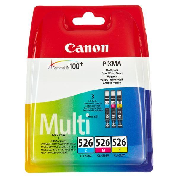 Canon Tintenpatrone CLI 526 Multipack