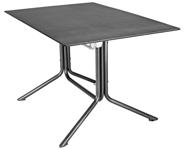 Mfg Profi-Klapptisch Mec-Slim 120 x 80 cm Schiefer
