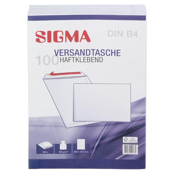 Sigma Versandtaschen DIN B4 - 100 Stück