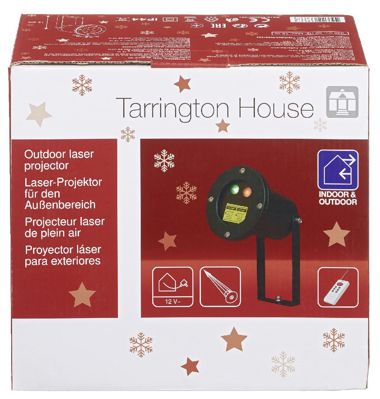 Tarrington House Weihnachts Lase-Projektor 220 V | Außenbeleuchtung ...