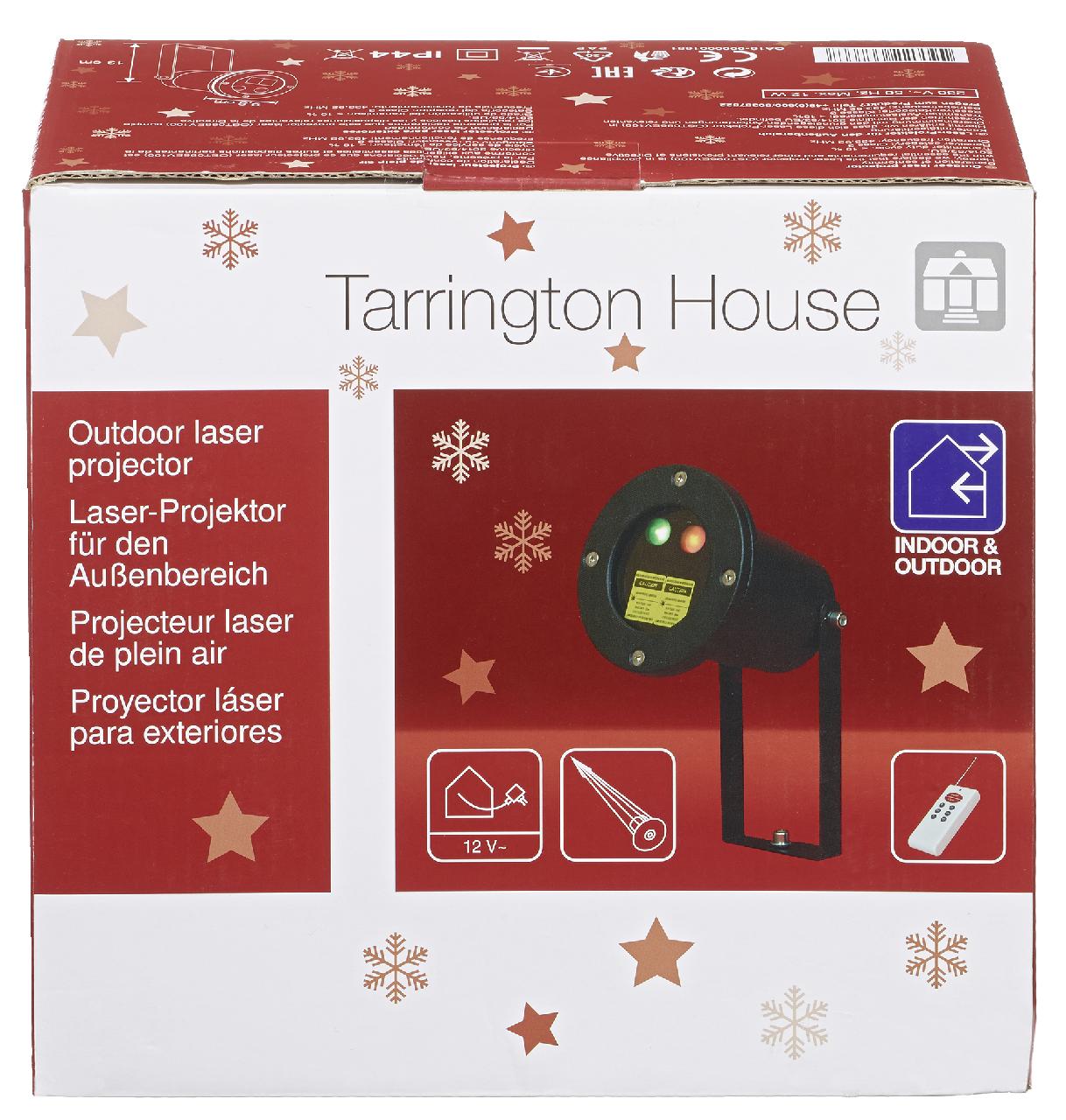 Tarrington House Weihnachts Laser Projektor 220 V   Außenbeleuchtung    Beleuchtung   Weihnachten   METRO