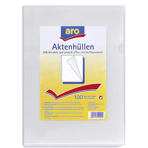 aro Aktenhüllen A4 - 100 Stück