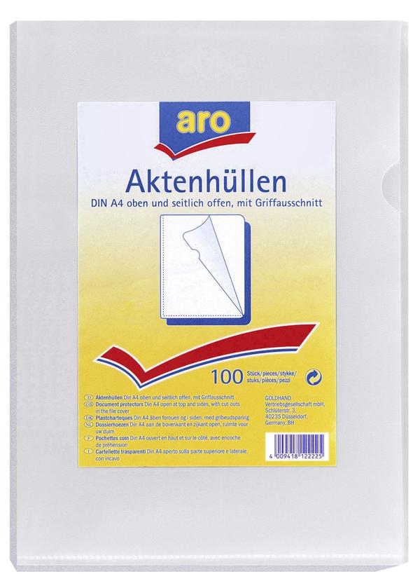 aro Aktenhüllen - 100 Stück