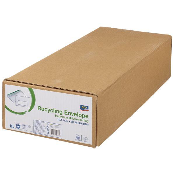 aro Recyclingumschlag DIN Lang - 1000 Stück