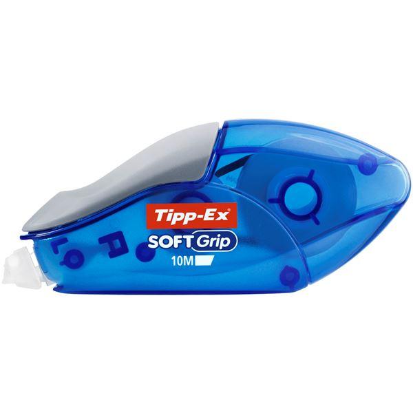 Tipp-Ex Soft Grip Korrektur-Roller Blau
